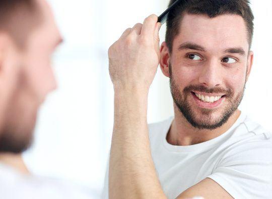 Article de blogue - Comment remédier à la perte de cheveux masculine